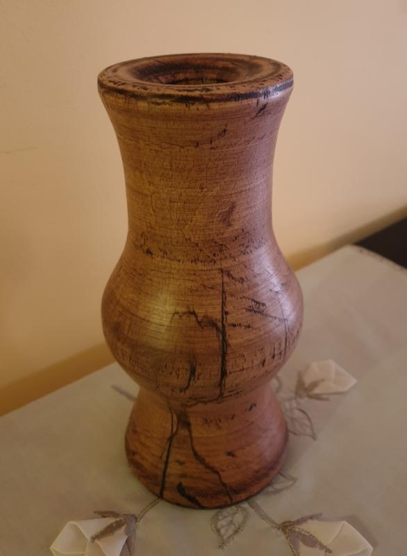 Wazon drewniany K1M1 3