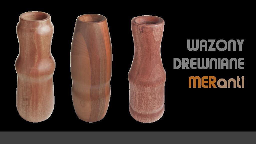 Wazony drewniane Kolekcja MER 1