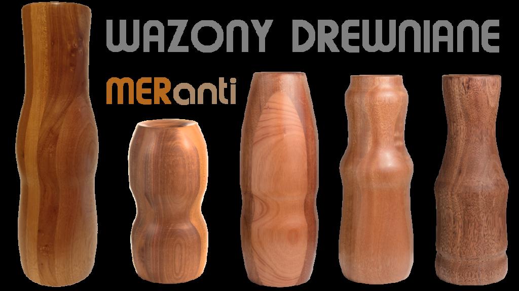 Kategoria wazony drewniane Meranti