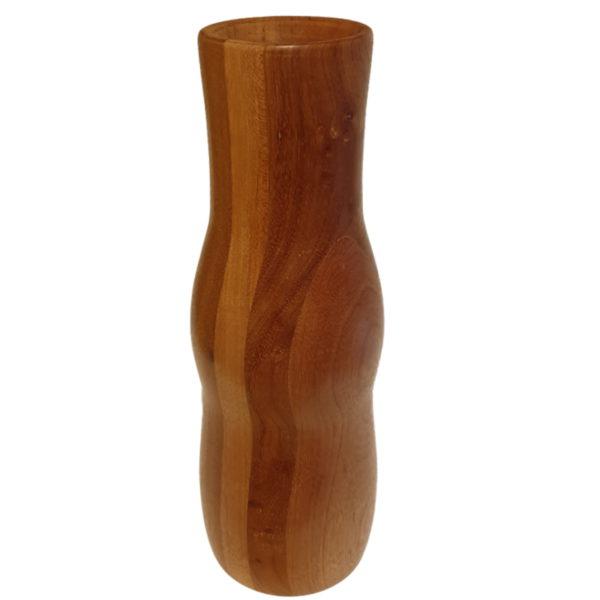 Drewniany wazon flakon k-mer-m10 (wysoki) 1