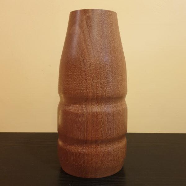 Drewniany wazon flakon K-MER-M5 1
