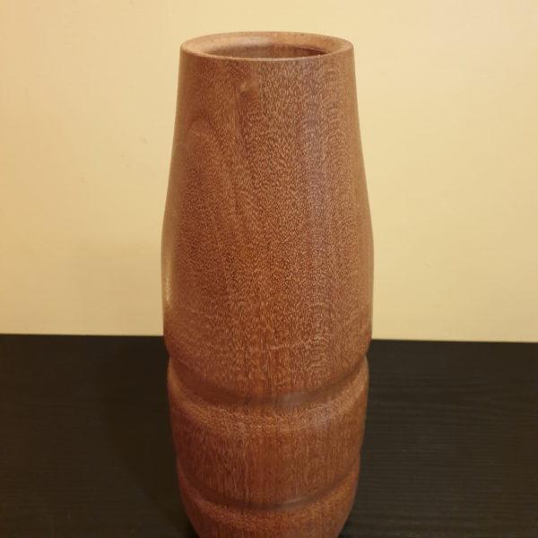 Drewniany wazon flakon K-MER-M5 2