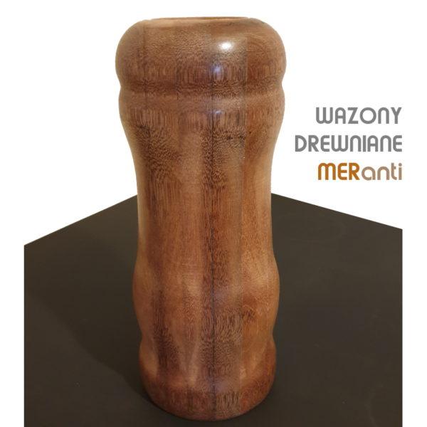 Drewniany wazon flakon k-mer-m8 2