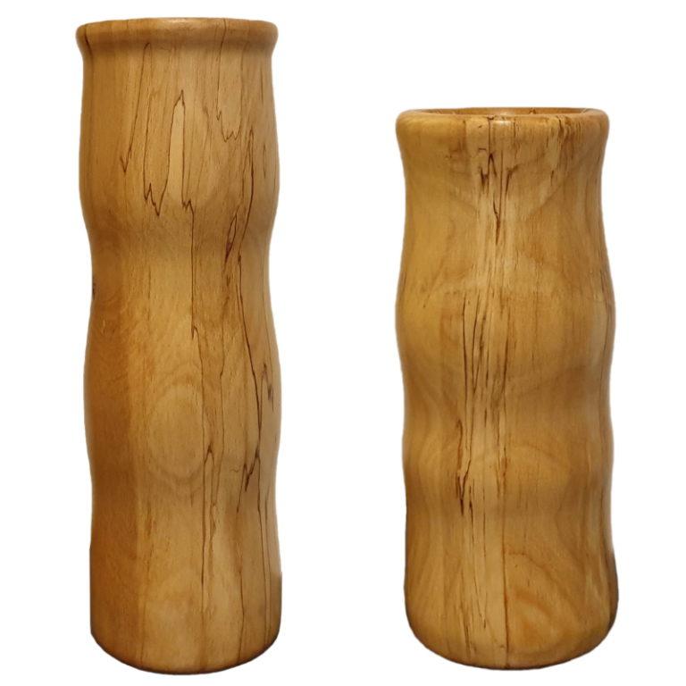 Wazoniki z drewna bukowego