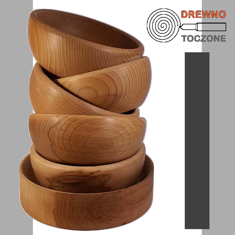 Miski drewniane baner