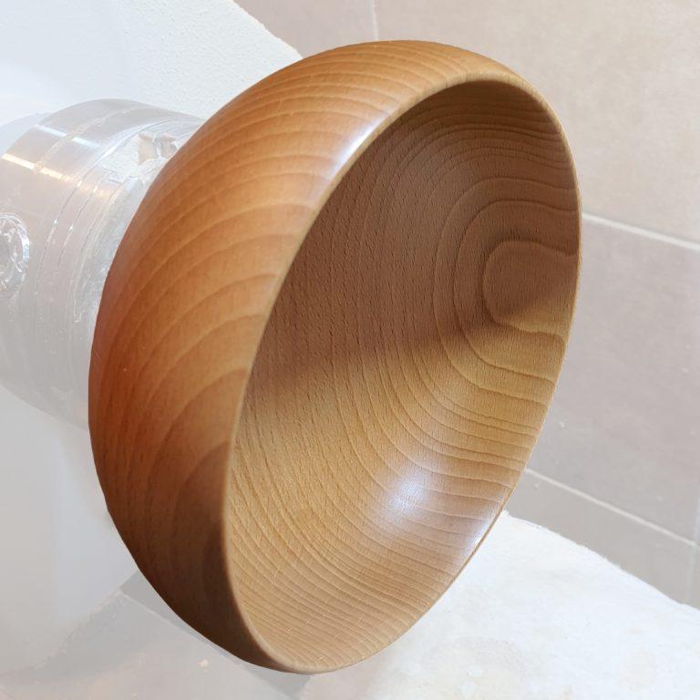 Bukowe miski z pracowni drewno toczone bohusz