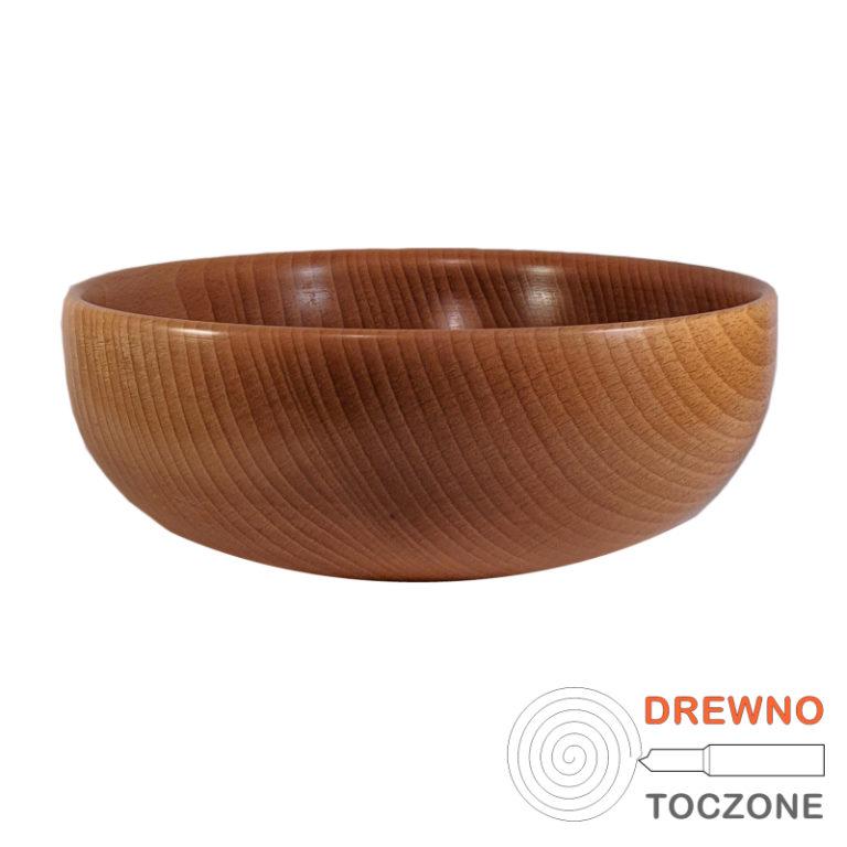 Miska drewniana smart - 18 cm