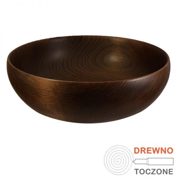 Drewniane barwione miski pik