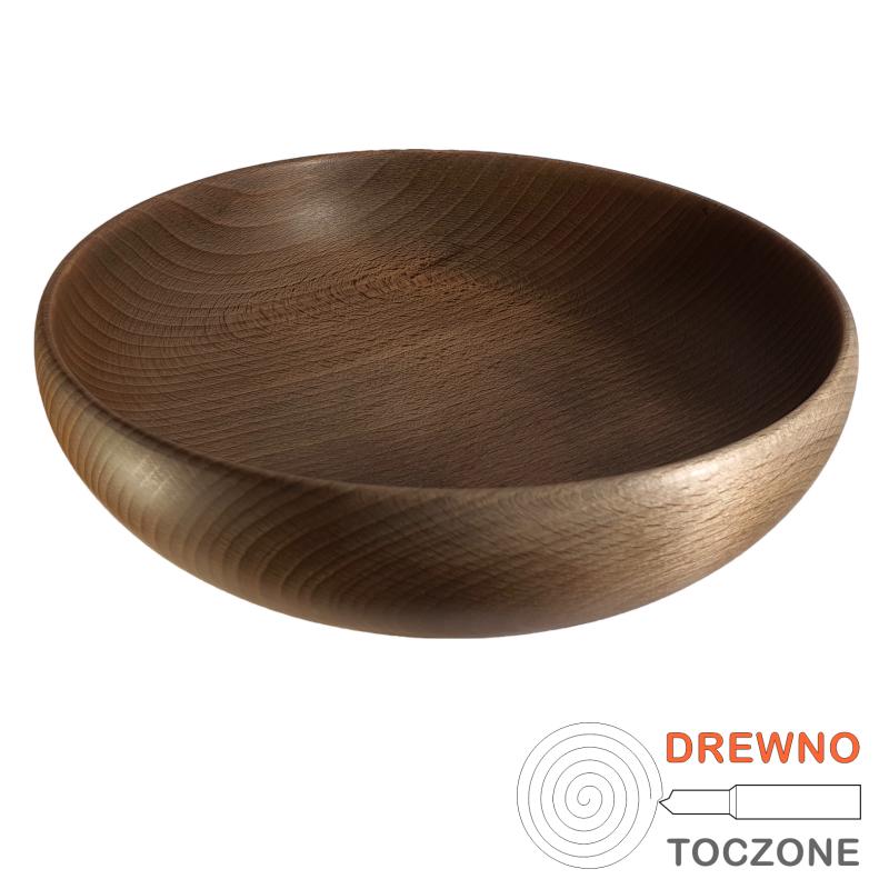 Duża drewniana miska Pik 22