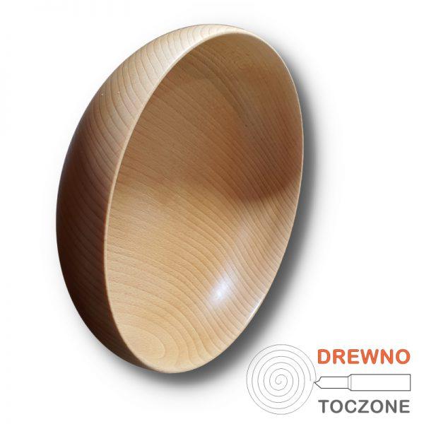 Miska drewniana smart - 18 cm 1