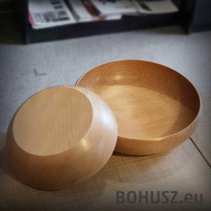 Miska drewniana bukowa SMART - 20 cm