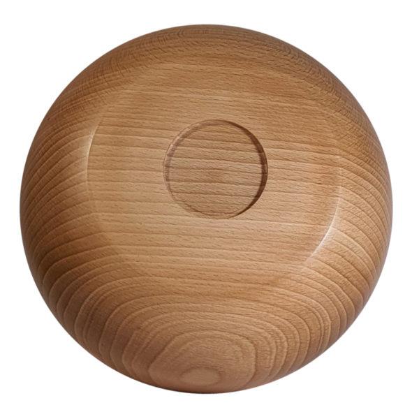 Miska drewniana SMART widok od spodu
