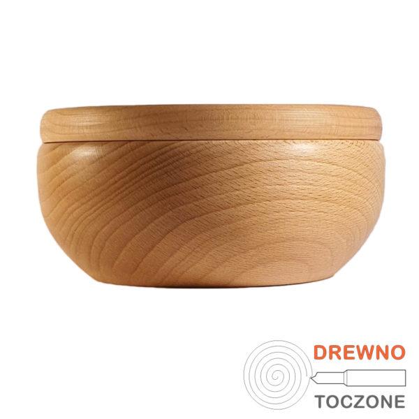 Miska drewniana z pokrywką smart 16 cm