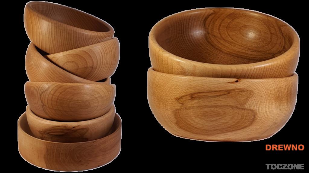 Miski drewniane smart baner