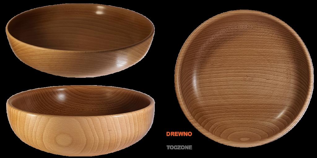 Prezentacja miski drewniane smart