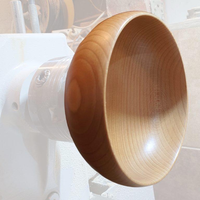 Pracownia, toczenie misek drewnianych kolekcja smart