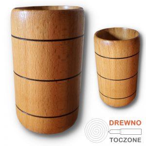 Kubek, kubeczek drewniany