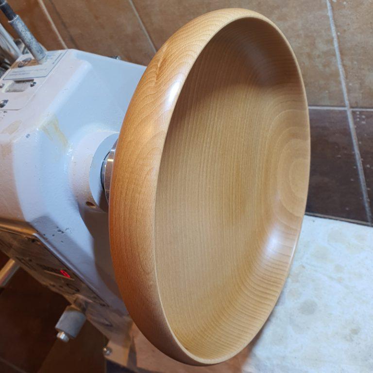 Produkcja misek drewnianych