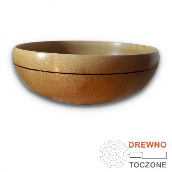 Miska drewniana smart - 20 cm r-1