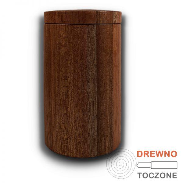 Drewniany kubek z przykrywką 3