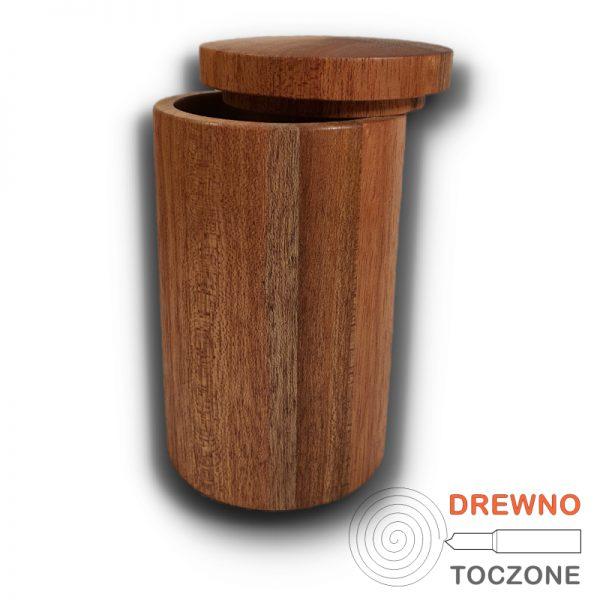 Drewniany kubek z przykrywką 5