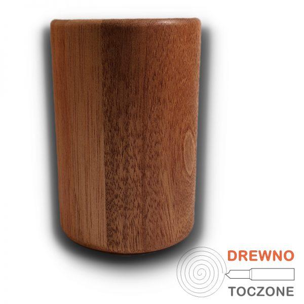 Duży kubek z drewna meranti 5