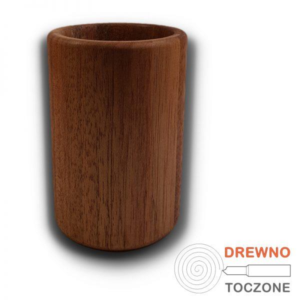 Duży kubek z drewna meranti 4