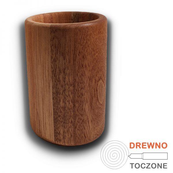 Duży kubek z drewna meranti 2