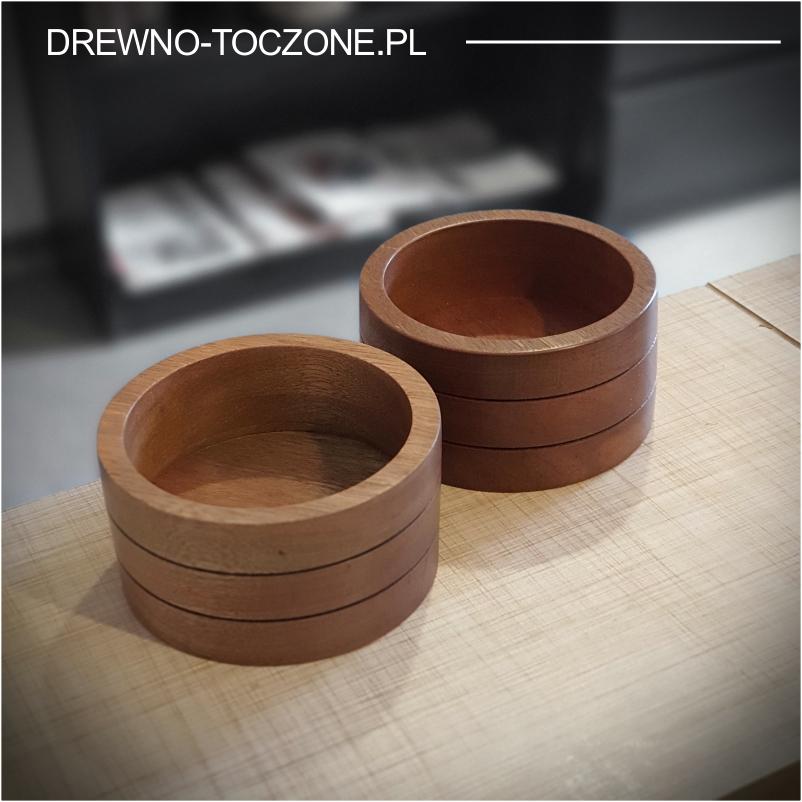 Pojemnik - miska drewno meranti 3