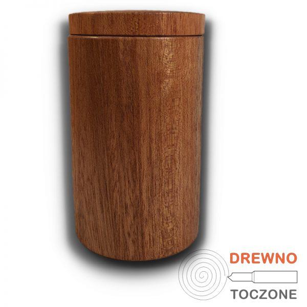 Drewniany kubek z przykrywką 2