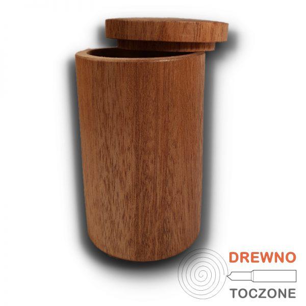 Drewniany kubek z przykrywką 4