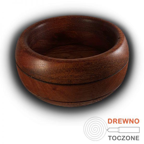 Miska owal z drewna meranti 2