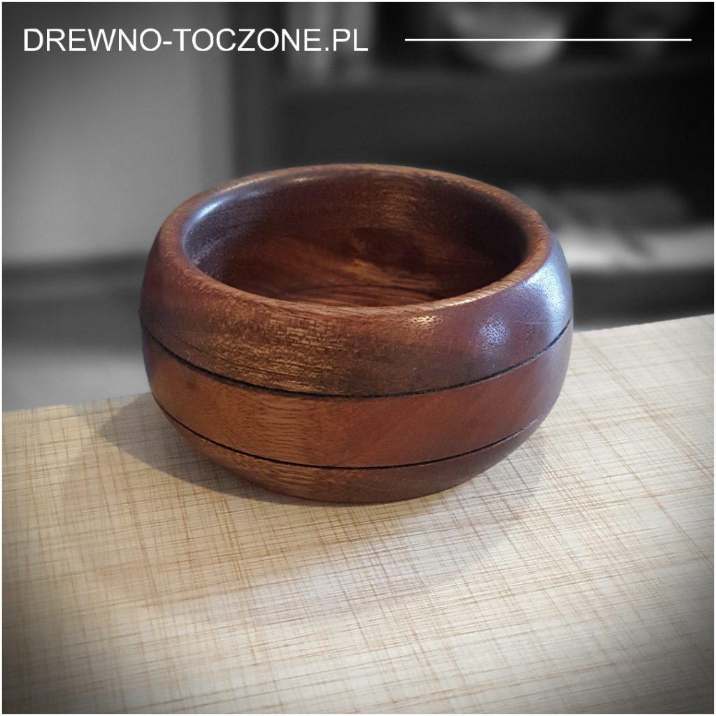 Opis miski owal z drewna meranti