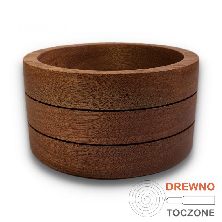 Pojemnik - miska drewno meranti