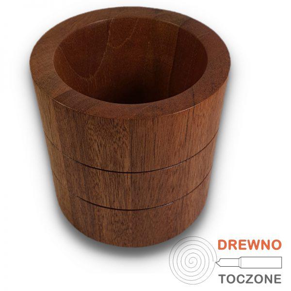 Wazon pojemnik drewniany 2