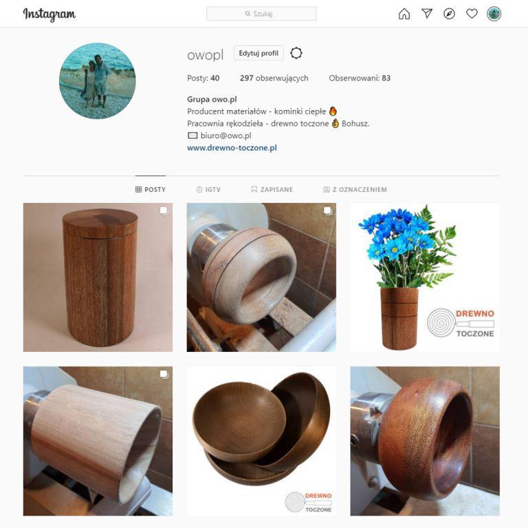 Instagram, kanał, profil firmowy