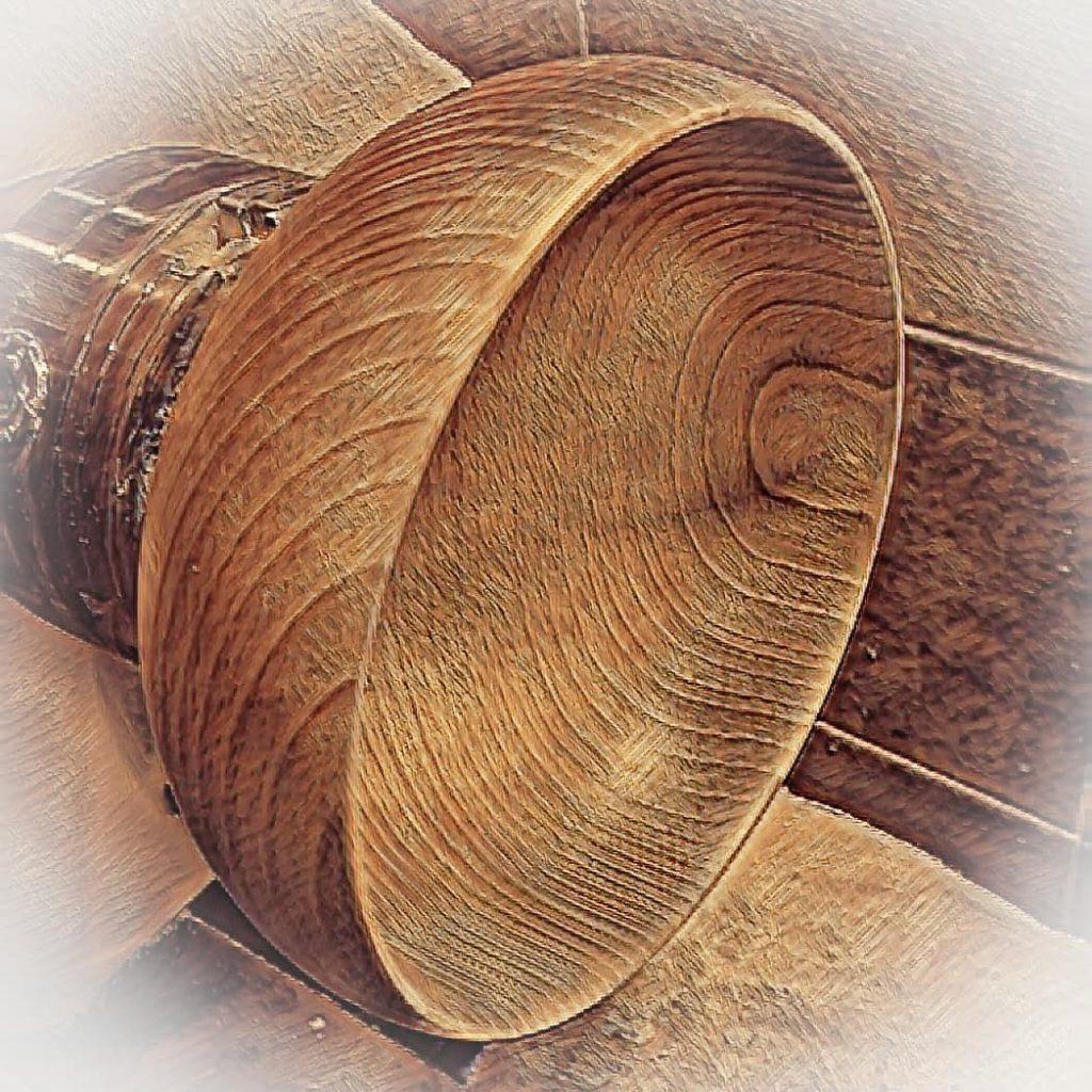 Miska drewniana smart