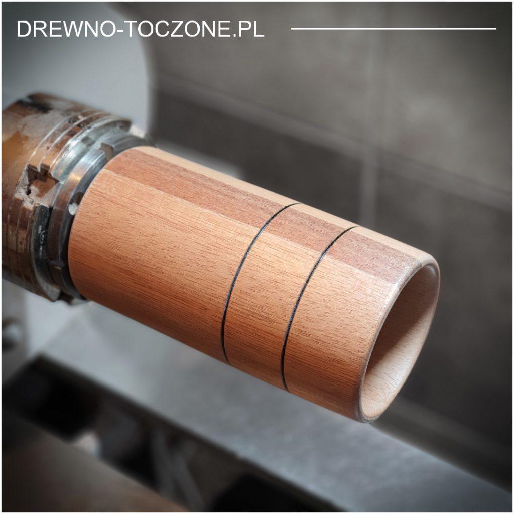Nowe wzory - kubki, wazony drewniane