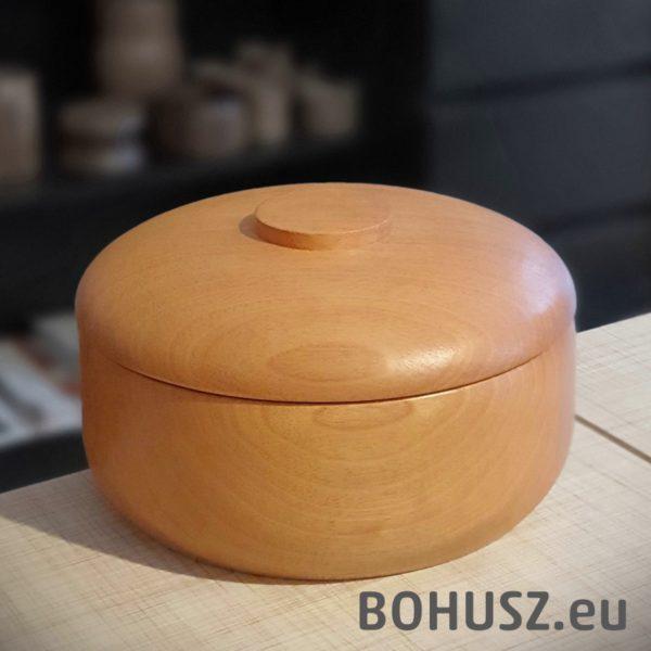 Duża miska z pokrywką, drewno menulak