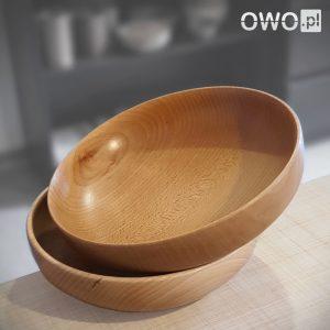 Popularny rozmiar misek drewnianych - miska Smart 20 cm