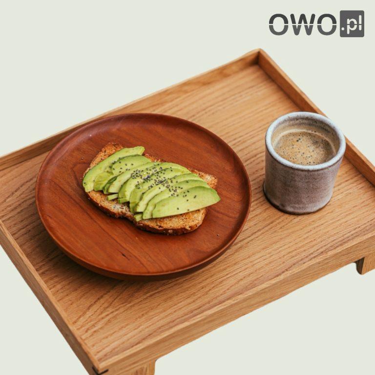 Półmiski drewniane - serwowanie potraw 1